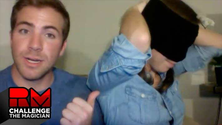 Kate and Jase (Blindfold Challenge) Video